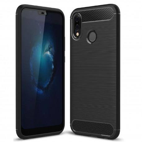 Huawei P20 Lite - Etui Pancerne Karbon